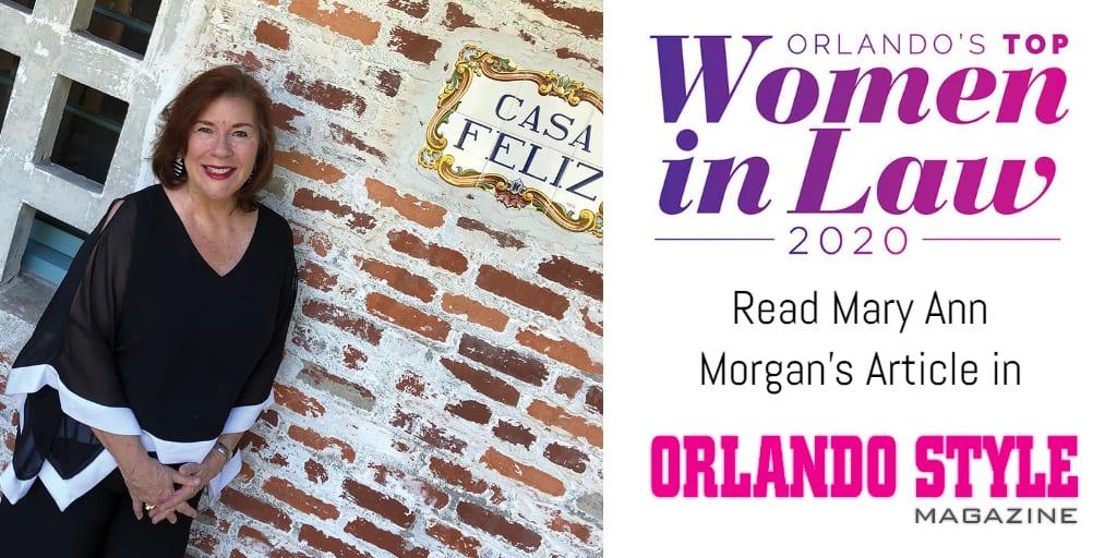 Mary Ann Morgan Women in Law